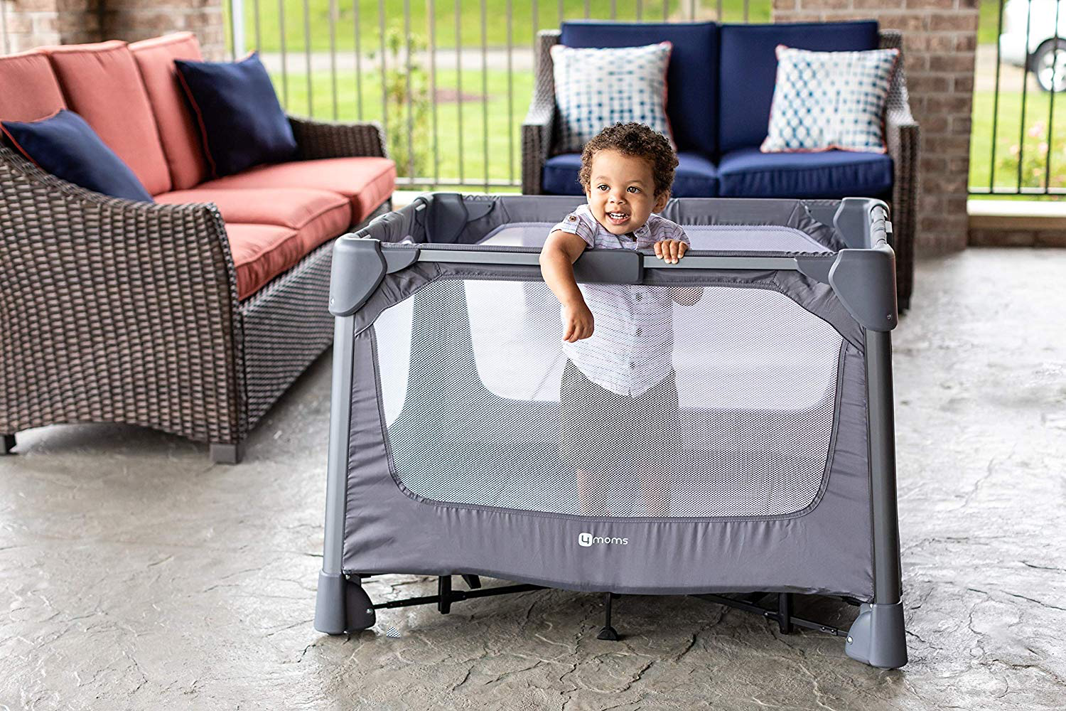 4moms breeze review play yard