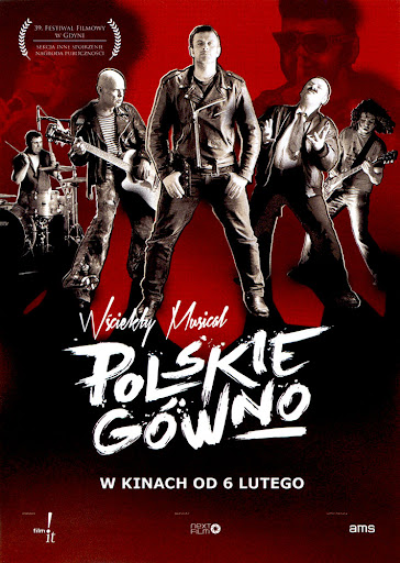 Przód ulotki filmu 'Polskie Gówno'