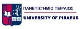 Αποτέλεσμα εικόνας για πανεπιστημιο πειραια logo