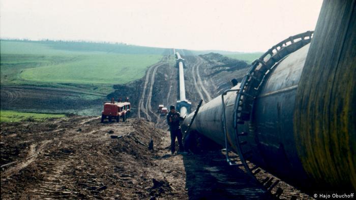 Газопровод в украинской степи