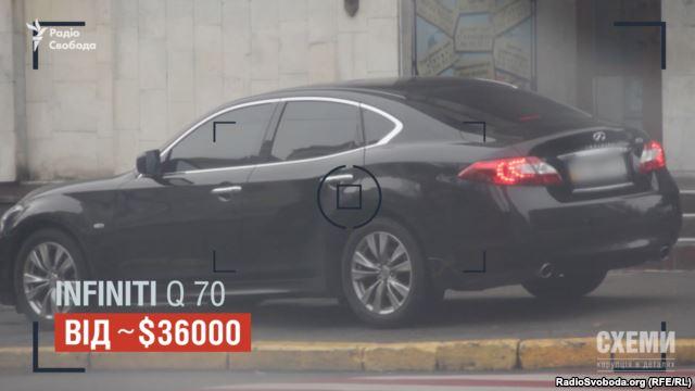 Власник цього авто, відповідно до декларації, заробляє 50 тисяч гривень на рік