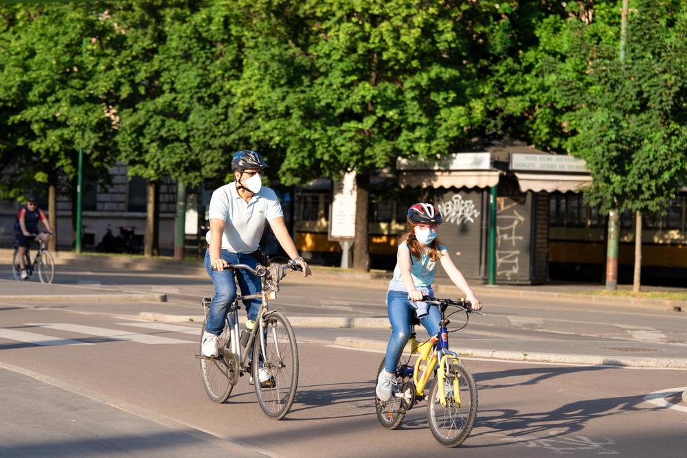 Após a crise sanitária, ciclovias podem permanecer para deslocamentos e lazer. (Fonte: Shutterstock)