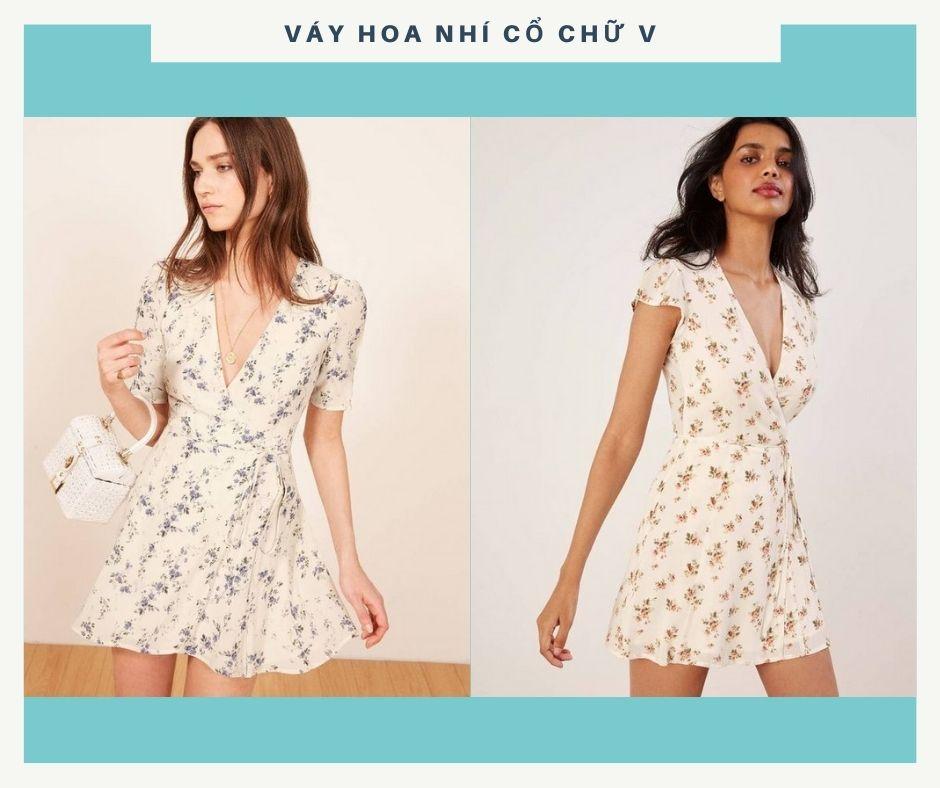 Váy hoa nhí: Chưa bao giờ là hết hot với các chị em - ảnh 1