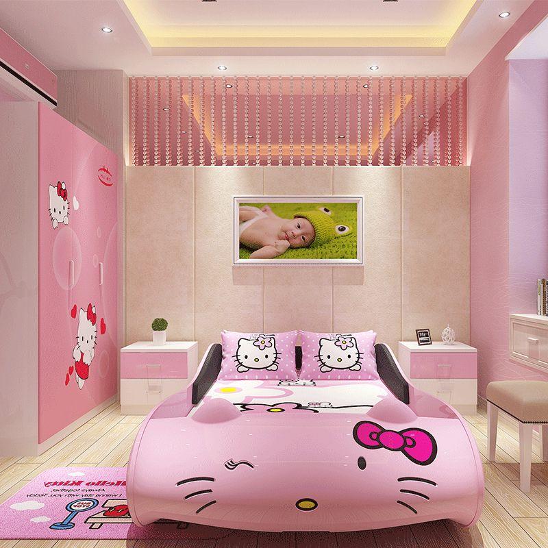 các mẫu giường ngủ đẹp cho bé gái