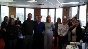Patty Proper Celebrates with The Reis Group staff