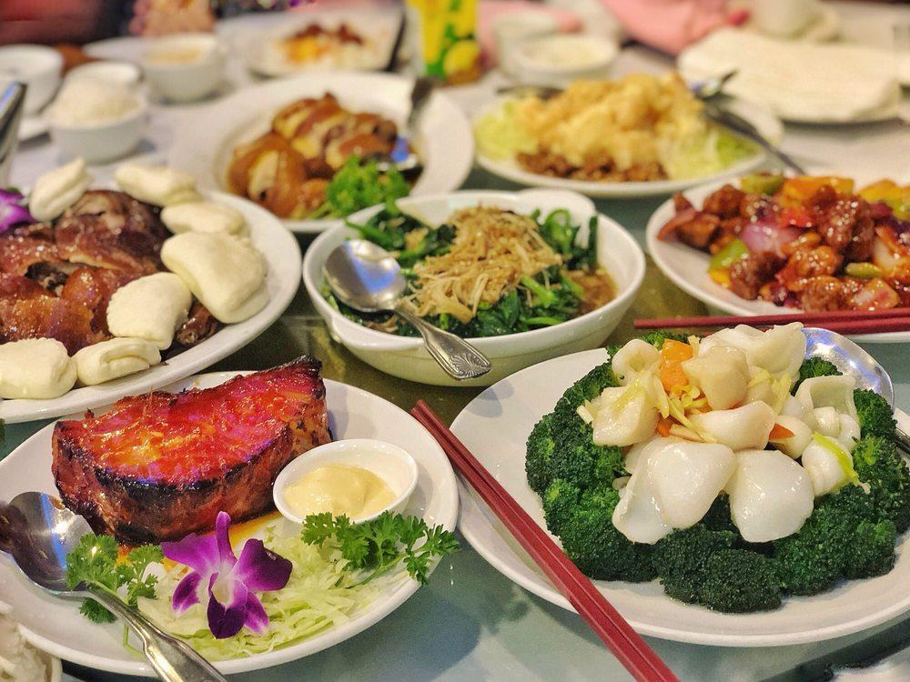 Photo of Peony Seafood Restaurant - Oakland, CA, United States. Father's day feast!