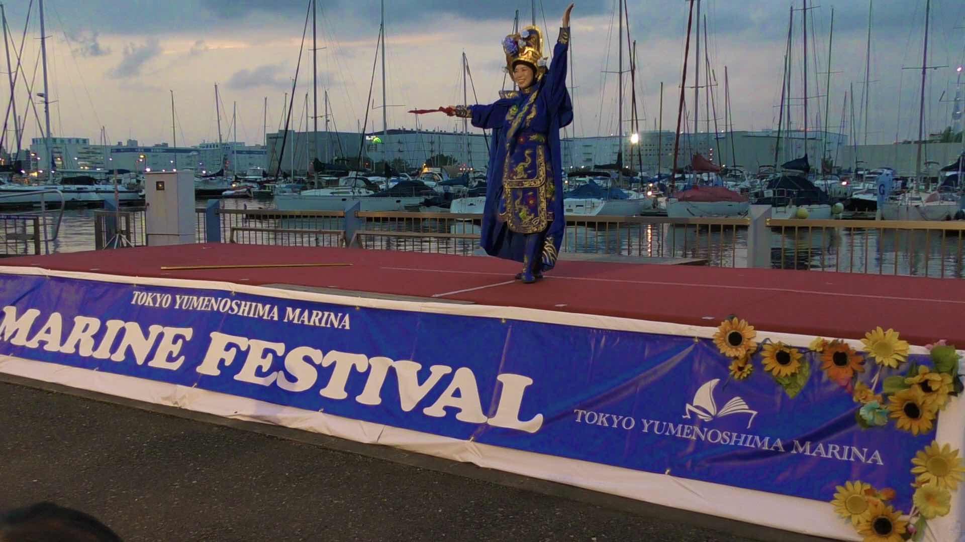 夢の島マリンフェスティバルで変面|美人マジシャン!? 女性マジシャン アリス(有栖川 萌)ブログ|マジックショー,イリュージョン,手妻(和妻,和風手品)の全国出張出演承ります♪