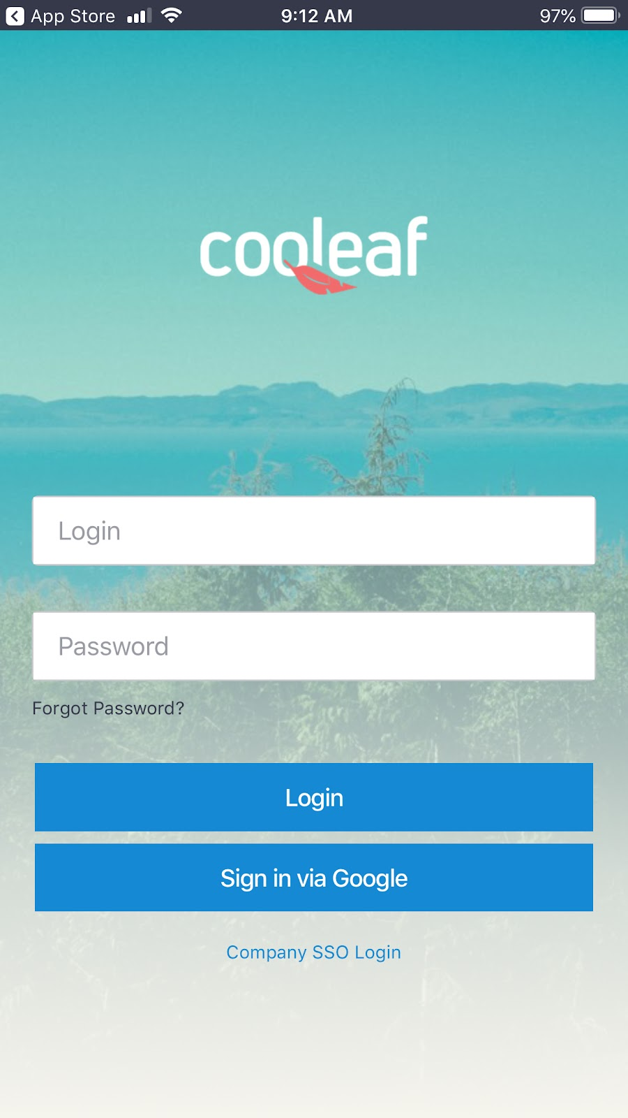 Cooleaf mobile app