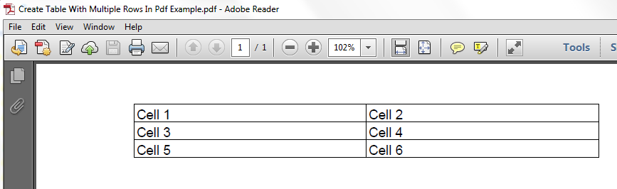 ADD CELL ITEXT PDF DOWNLOAD