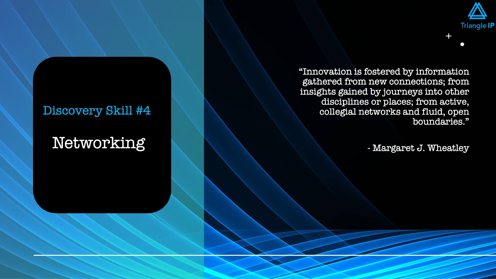Disruptive Innovators | Discovery Skill #4 Networking