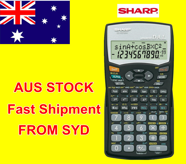 original new casio fx 82es plus a scientific calculator white au rh ebay com sharp el-531vh calculator manual sharp el 531vh user manual