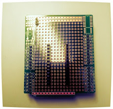 Interface board (WiFi Shield) top for GR-KURUMI