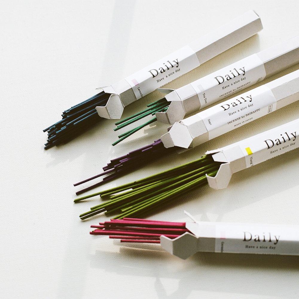 日本品牌 設計 TRUNK DESIGN 線香 居家