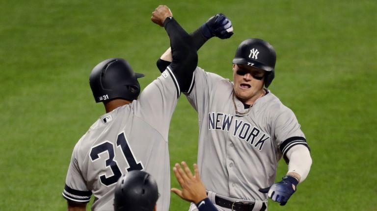 b681b50be Bleeding Yankee Blue  CLINT FRAZIER STRIKES   LEADS THE MLB ROUNDUP ...
