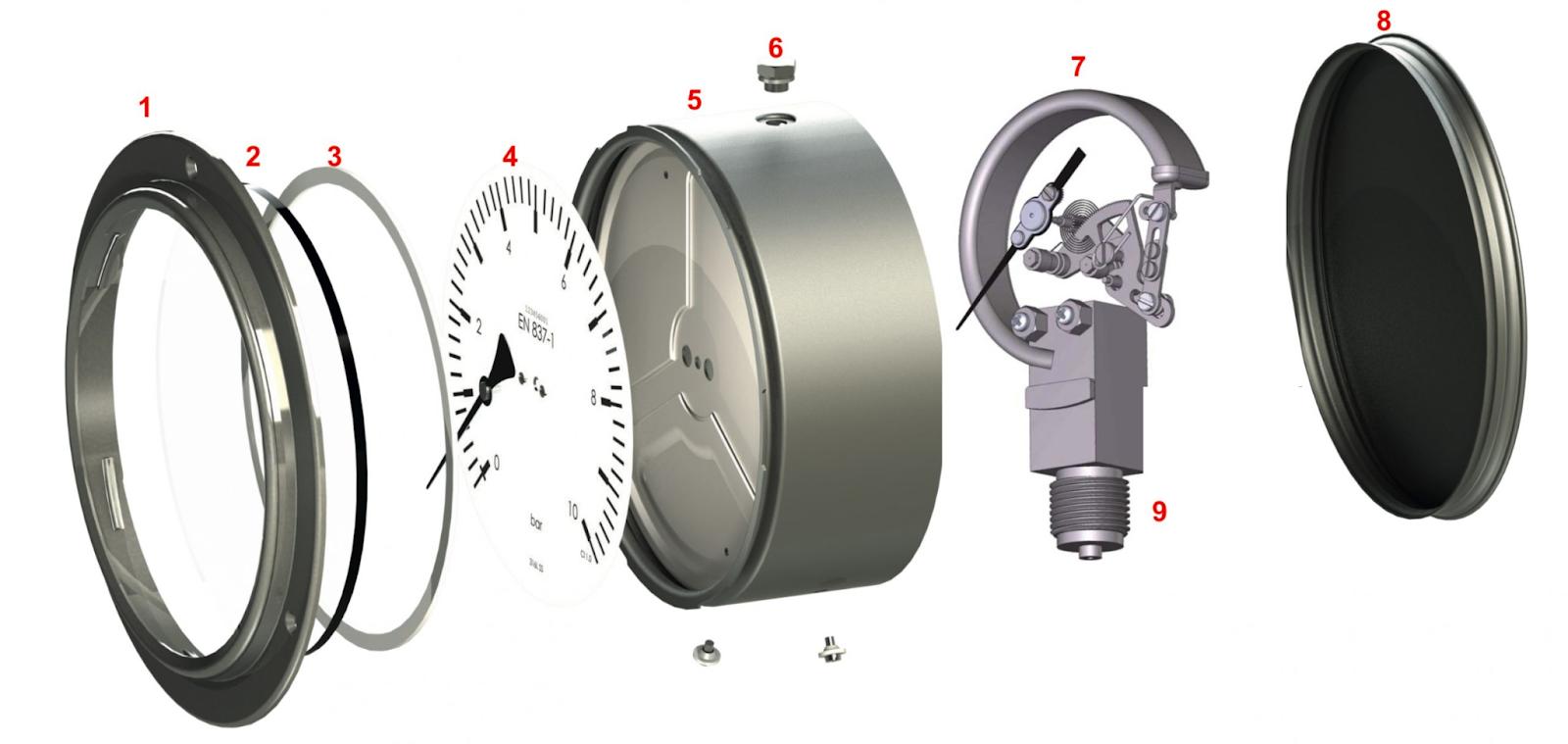 Một số sản phẩm đồng hồ đo áp suất