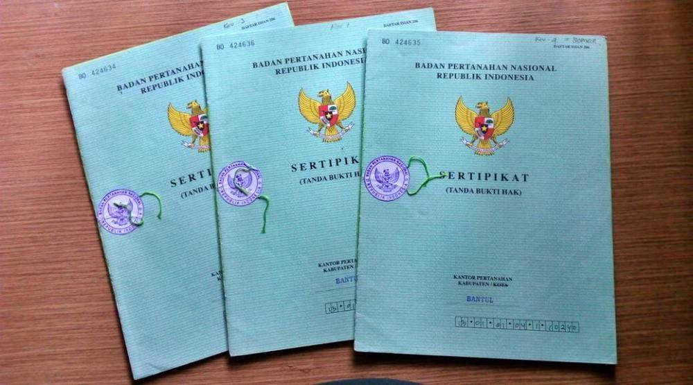 cara membuat sertifikat tanah lewat notaris