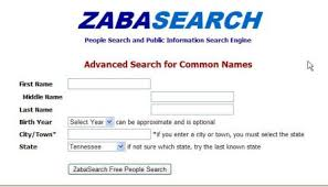 Zabsearch Advanced search
