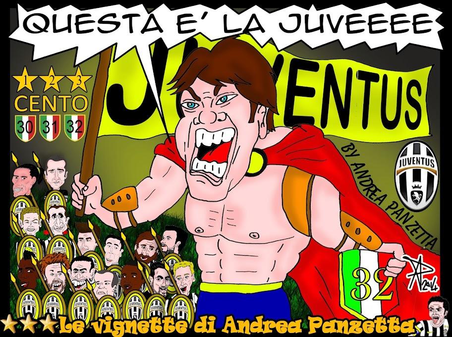 Le vignette di Andrea Panzetta Questa è la Juveee