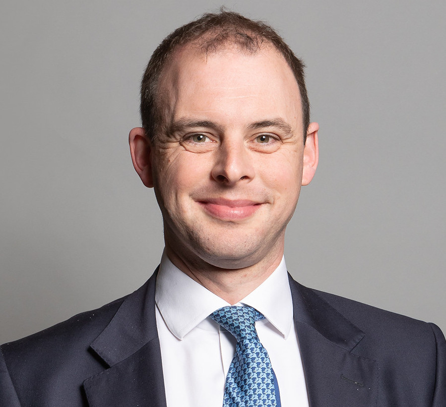 Portrait photo of Matt Warman MP, Minister for Digital Infrastructure.
