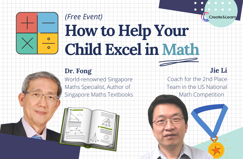 Special Parents Event - How to excel in math when schools are not fully operating?
