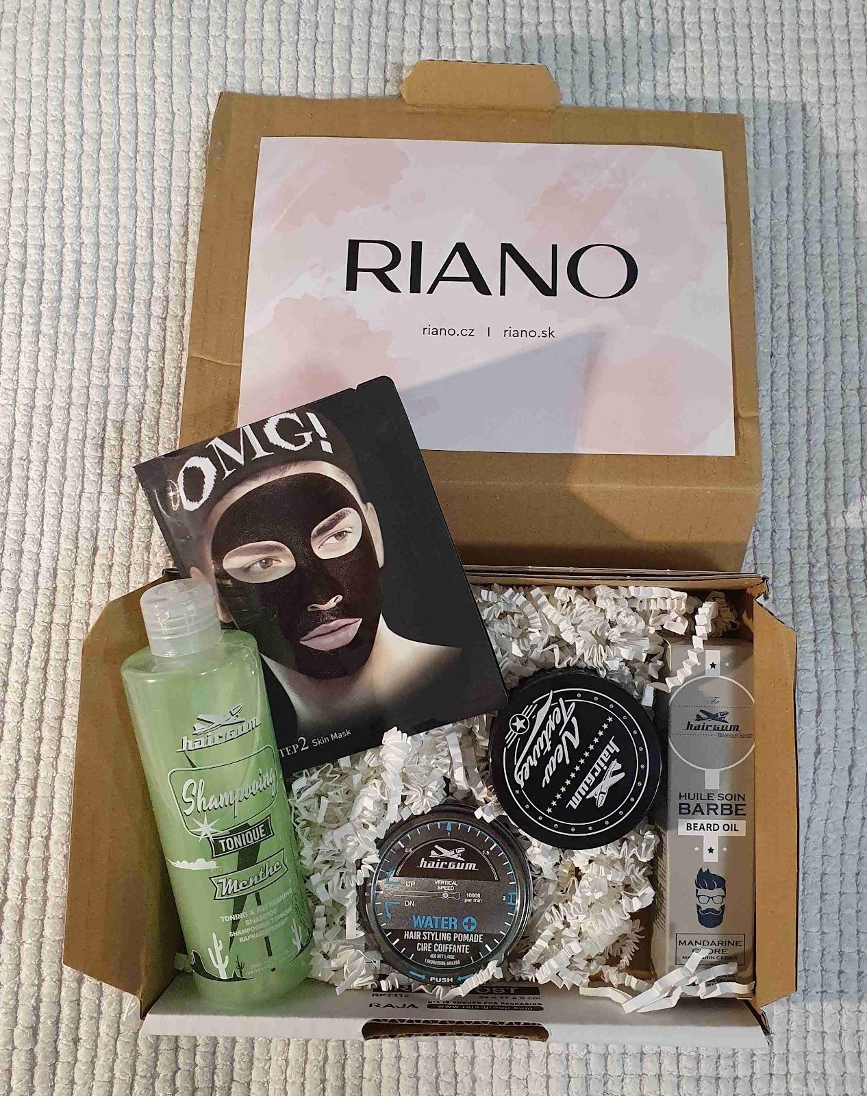 Riano: balíček pánské kosmetiky