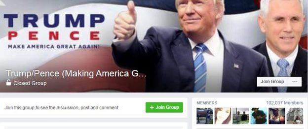Группа поддержки Трампа