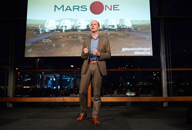 Bas Lansdorp tiết lộ kế hoạch đưa người lên sao Hỏa trong 10 năm tới.
