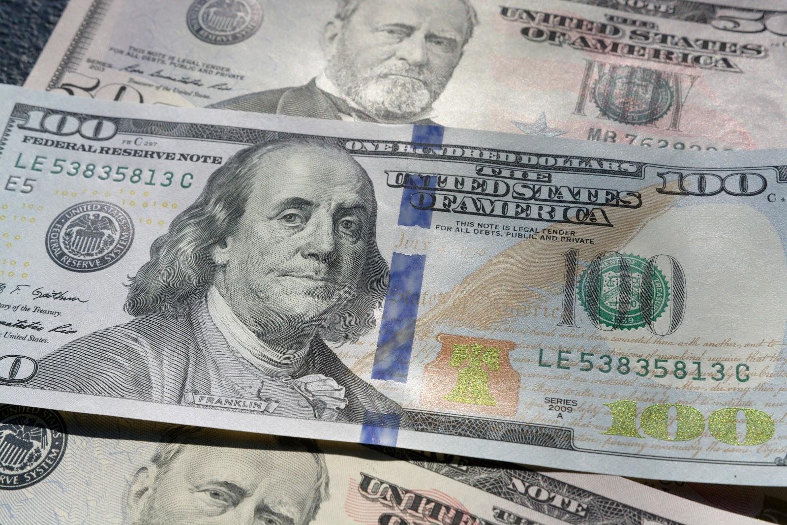 American money.