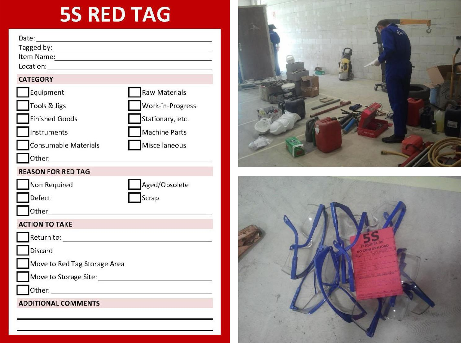 Figure 1 5S Red Tags