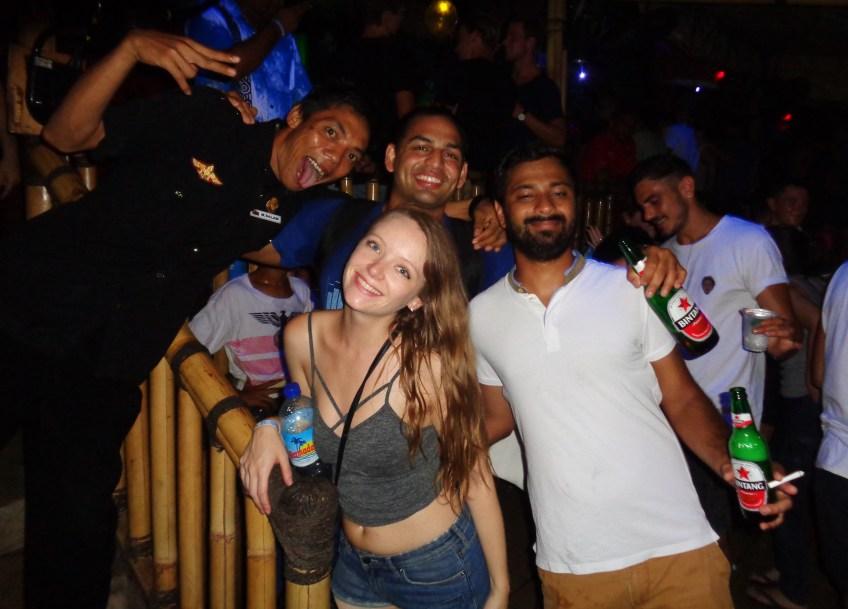 Jungle bar in bali