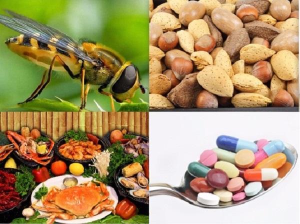 Thuốc, thức ăn có thể là nguyên nhân gây sốc phản vệ