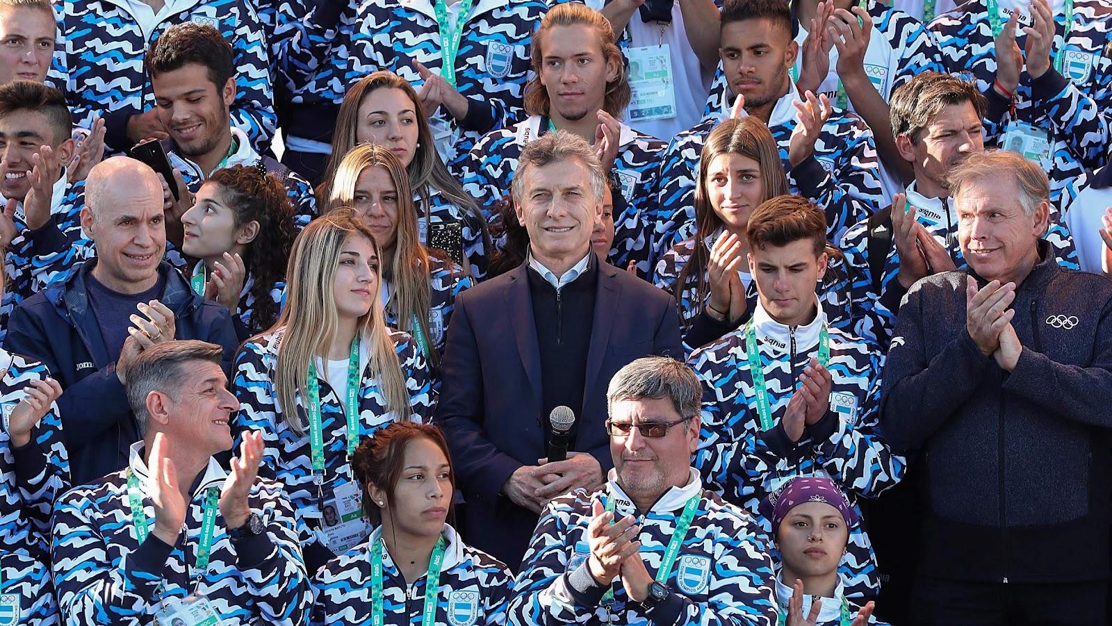 Image result for Juegos juventud buenos aires 2018 macri