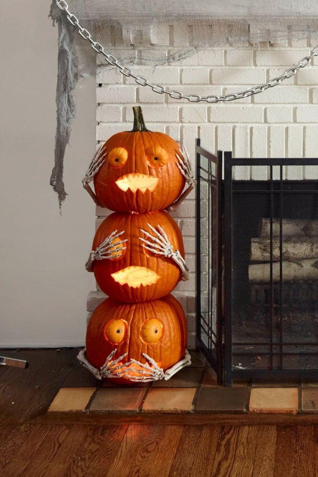 Unique Halloween Pumpkin Lights