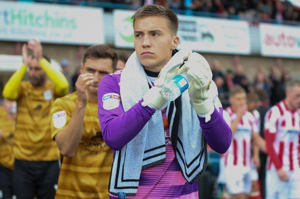 Crewe Alex will be without keeper Will Jaaskelainen as boss ...