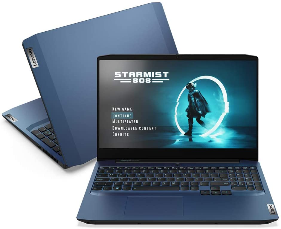 imagem de notebook modelo gamer Lenovo IdeaPad 3i