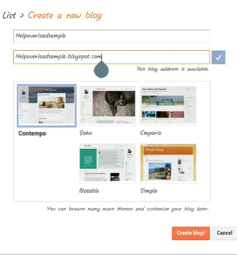 How To Start a Blog on Blogger for Free. 5