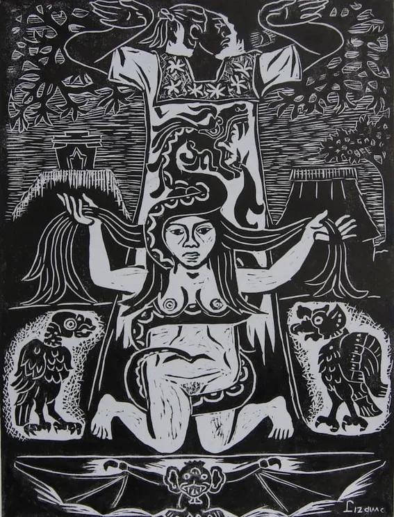 La leyenda de Xtabay: Imágen Prehispanica.