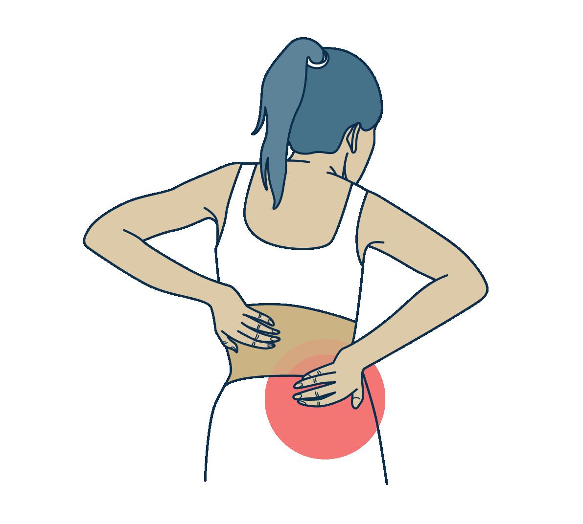Chronic pelvic and back pain