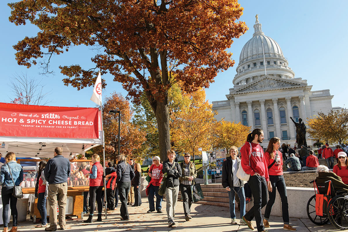 Madison Farmers Market - Sober City Guide of Madison, Wisconsin