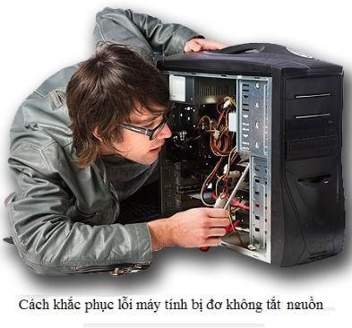 khắc phục máy tính đơ