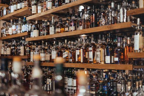 酒精,酒類示意圖
