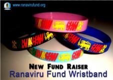 Ranaviru Fund Wristbands