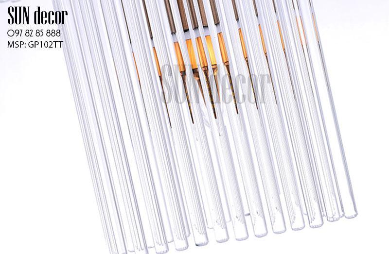 Đèn chùm hiện đại - Đèn chùm pha lê GP102TT