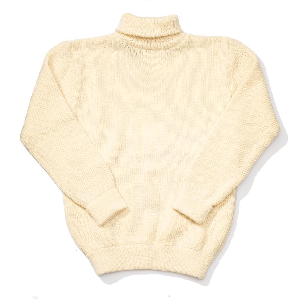 Heimat U-Boat Roll Neck Seashell-Sweater-Clutch Cafe