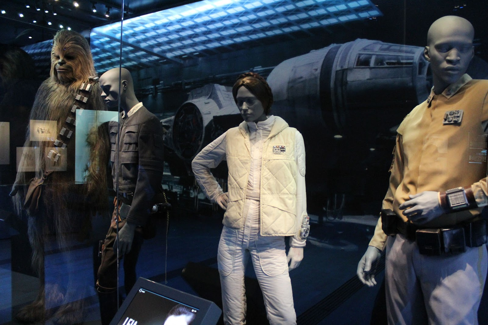 Costumes and models made for Star Wars films