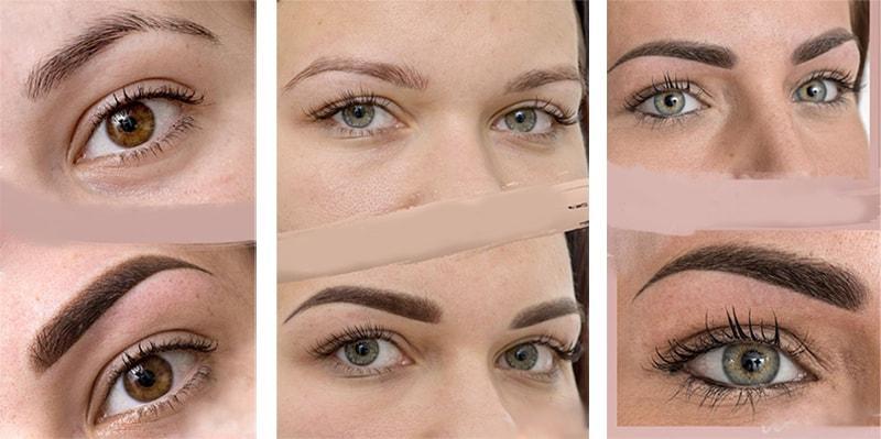 Техники перманентного макияжа бровей | IPICCADILLY