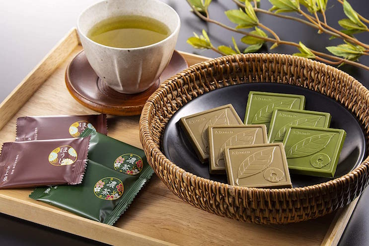宇治抹茶チョコレート ほうじ茶チョコレート