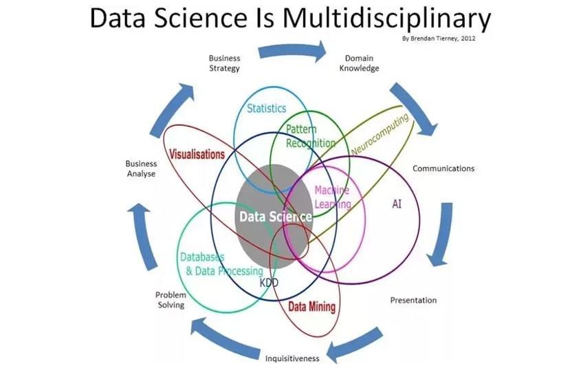 Data Science Is Multidisciplinary