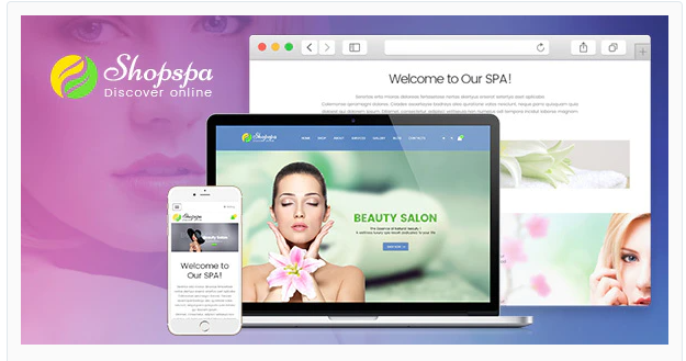 Hair salon magento theme