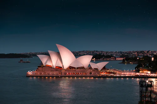 The Syndey Opera House - probably one of the most popular things to do in sydney with kids